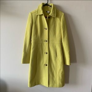 J crew double cloth thinsulate lady day coat